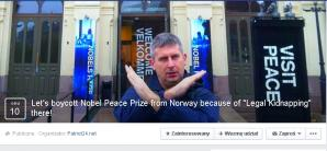 [VIDEO] Let's boycott the Nobel Peace Prize is awarded in Norway! This country, which annually receives thousands of immigrants for all children, there is no moral right to be peaceful authority!